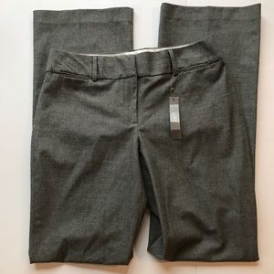 NWT Loft Julie Trouser Dress Pants Gray 10Tall